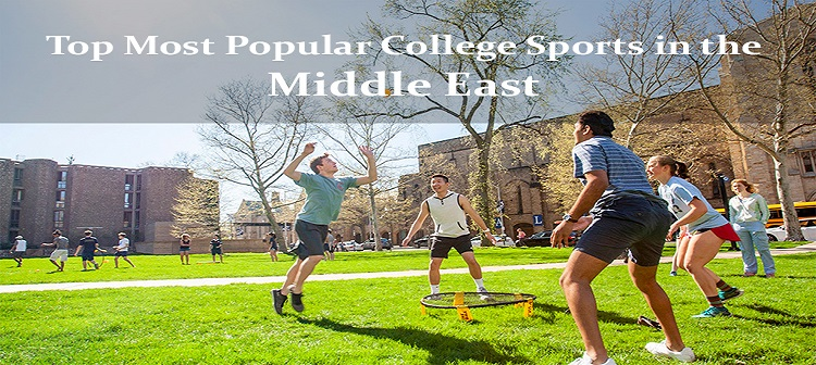 Top Most Popular College Sports in the Middle East